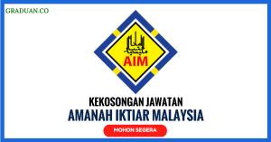 Jawatan KosongTerkini Amanah Iktiar Malaysia