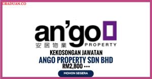 Jawatan KosongTerkini Ango Property