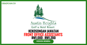 Jawatan Kosong Terkini Austin Heights Golf & Country Resort