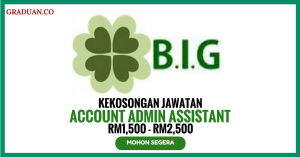 Jawatan KosongTerkini B.I.G Plots Sdn Bhd