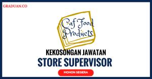 Jawatan KosongTerkini Caf Food Products