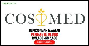 Jawatan KosongTerkini CosMed's Specialist Clinic