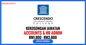 Jawatan KosongTerkini Crescendo International College