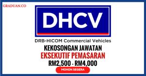 Jawatan KosongTerkini DRB Hicom Commercial Vehicles