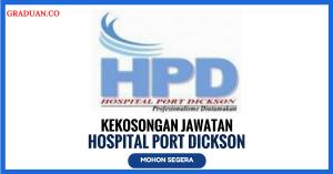 Jawatan KosongTerkini Hospital Port Dickson