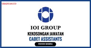 Jawatan KosongTerkini IOI Plantation Services Sdn Bhd