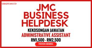 Jawatan KosongTerkini JMC Business Helpdesk
