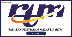 Jawatan KosongTerkini Jabatan Penyiaran Malaysia (RTM)