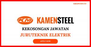 Jawatan KosongTerkini Kamen Steel Industries