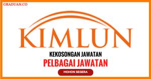 Jawatan KosongTerkini Kimlun Sdn Bhd