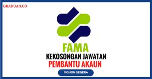 Jawatan KosongTerkini Lembaga Pemasaran Pertanian Persekutuan (FAMA)