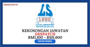 Jawatan KosongTerkini Lotus Laboratory Services