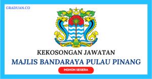 Jawatan KosongTerkini Majlis Bandaraya Pulau Pinang