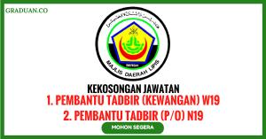 Jawatan KosongTerkini Majlis Daerah Kuala Lipis