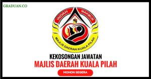 Jawatan KosongTerkini Majlis Daerah Kuala Pilah
