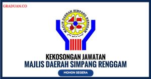 Jawatan KosongTerkini Majlis Daerah Simpang Renggam