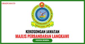 Jawatan KosongTerkini Majlis Perbandaran Langkawi Bandaraya Pelancongan