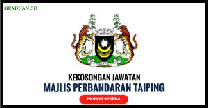 Jawatan KosongTerkini Majlis Perbandaran Taiping