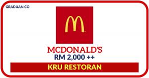 Jawatan KosongTerkini McDonald's