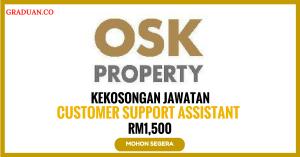 Jawatan KosongTerkini OSK Property Holdings Berhad