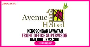 Jawatan KosongTerkini One Avenue Hotel
