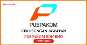 Jawatan KosongTerkini PUSPAKOM Sdn Bhd