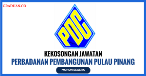 Jawatan KosongTerkini Perbadanan Pembangunan Pulau Pinang