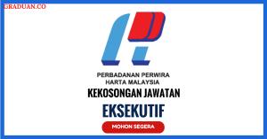 Jawatan KosongTerkini Perbadanan Perwira Harta Malaysia (PPHM)