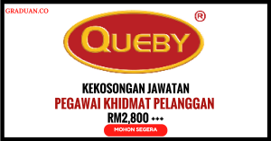 Jawatan KosongTerkini Queby Recovery Management Sdn Bhd