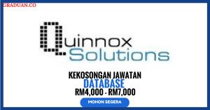 Jawatan KosongTerkini Quinnox Solutions Sdn Bhd