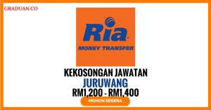 Jawatan KosongTerkini Ria Money Transfer