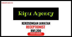 Jawatan KosongTerkini Ripu Agency