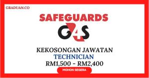 Jawatan KosongTerkini Safeguards G4S Security Systems Sdn Bhd