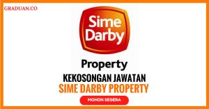 Jawatan KosongTerkini Sime Darby Property