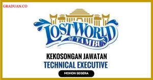 Jawatan KosongTerkini Sunway Lost World Water Park Sdn Bhd