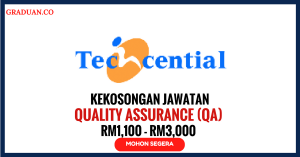 Jawatan KosongTerkini Techcential Sdn Bhd