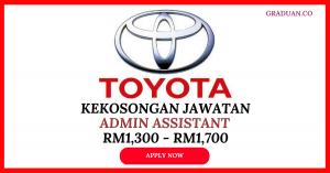 Jawatan KosongTerkini Toyota