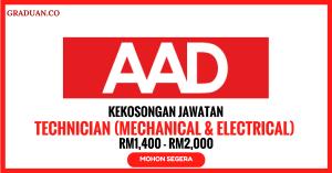 Jawatan KosongTerkini United Aad Sdn Bhd