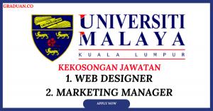 Jawatan KosongTerkini University of Malaya