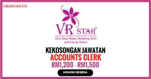 Jawatan KosongTerkini VR Star Sdn Bhd
