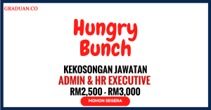 Jawatan KosongTerkini Hungry Bunch