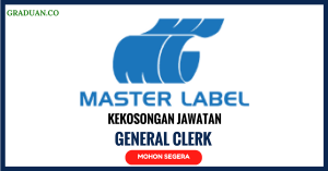 Jawatan KosongTerkini Master Label