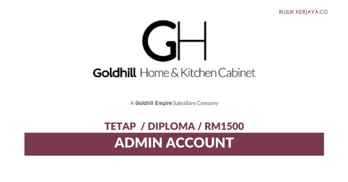 Goldhill Home & Kitchen Cabinet ~ Admin Account