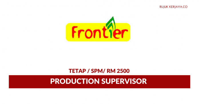 Frontier Food ~ Production Supervisor