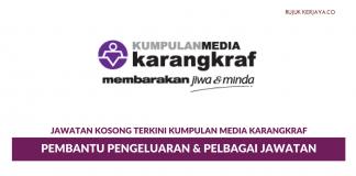 Kumpulan Media Karangkraf ~ Pembantu Pengeluaran & Pelbagai Kekosongan Jawatan