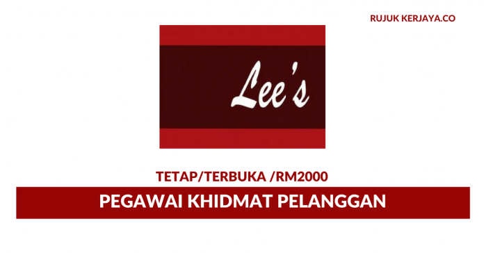 Pegawai Khidmat Pelanggan Di Lee