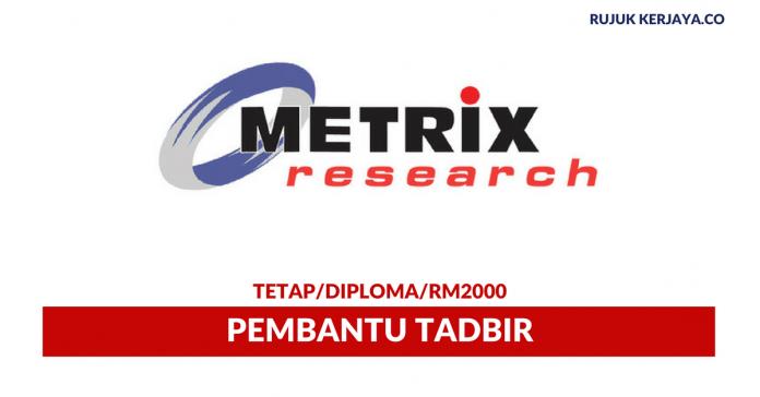 Metrix Research ~ Pembantu Tadbir