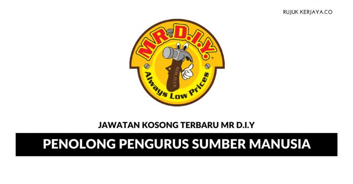 Mr. D.I.Y. Trading ~ Penolong Pengurus Sumber Manusia