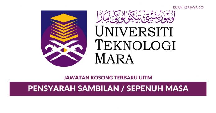 Universiti Teknologi Mara ~ Pensyarah Sambilan / Sepenuh Masa