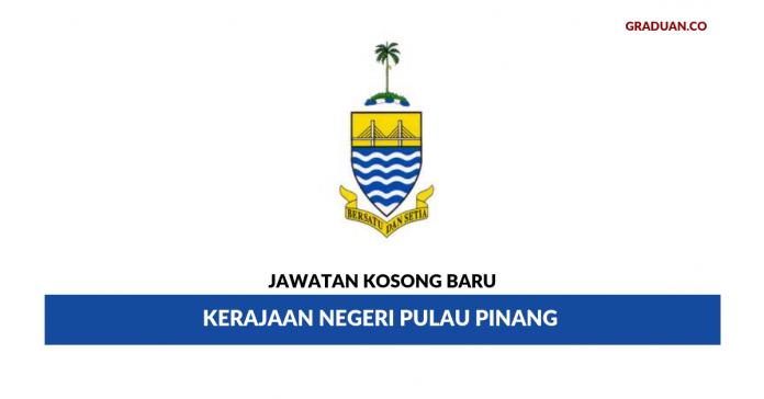 Permohonan Jawatan Kosong Terkini Kerajaan Negeri Pulau Pinang
